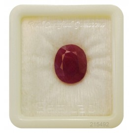 Natural Ruby Gemstone Fine 11+ 6.65ct