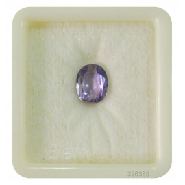 Ceylon Astrological Neelam Stone Fine 2.8CT (4.67 Ratti)