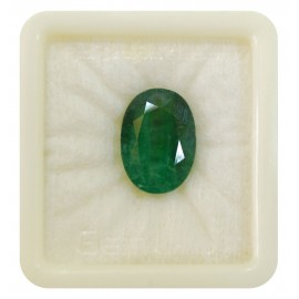 Astrological Natural Emerald SP 12+ 7.75ct