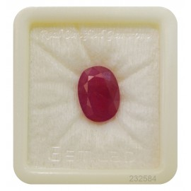 Natural Ruby Gemstone Fine 11+ 6.6ct