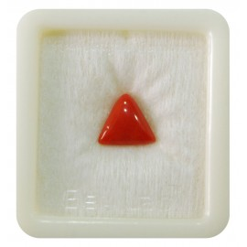 Certified Red Coral Premium 4+ 2.4ct