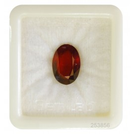 Hessonite Garnet Gemstone Fine 9+ 5.7ct