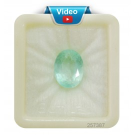 Astrological Natural Emerald SP 12+ 7.4ct