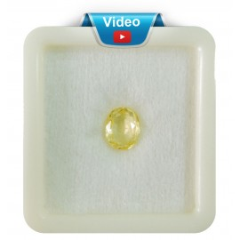 Ceylon Astrological Pushparaaj-Guru Ratna 2.2CT (3.66 Ratti)