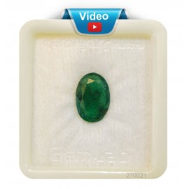 Natural  Emerald Panna Stone Sup-Pre 3+ 2.15ct