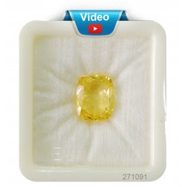 Yellow Sapphire Sup-Pre 11+ 6.7ct