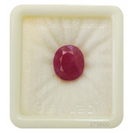 Ruby Fine 11+ 6.95ct
