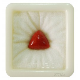 Certified Red Coral Premium 10+ 6.15ct