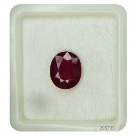 Burmese Ruby Gemstone Sup Pre 7+ 4.5ct