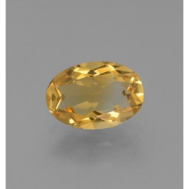 2.1 Carat Yellow Golden Citrine Gem from Brazil Natural and Untreated