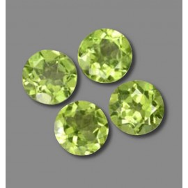 4.6 Carat Lively Green Peridot Gems from China Natural and Untreated