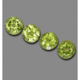 3.2 Carat Lively Green Peridot Gems from China Natural and Untreated